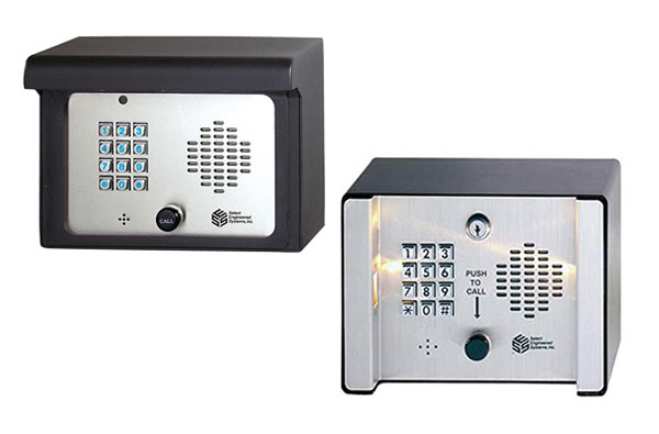 Select Engineered Systems J-SG3DMR & SG2C Telephone Entry Controls